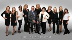 The Hartanov Team, Real Estate Team Photo Session