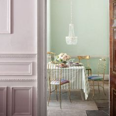Dreams and Wishes: Summer pastels inspire interior design...