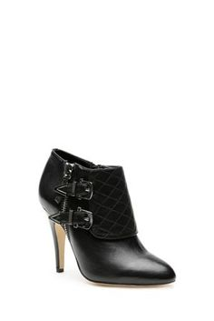 Want!!!! Wayne by Wayne Cooper, Fergie Black Ankle Boot