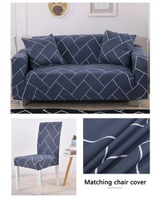 Sofa Cover Elastic for Living Room Spandex Corner Couch Slipcover Ship Cheap Chair Covers, Stretch Chair Covers, Couch Covers, Couch Slipcover, Chaise Chair, Slipcovers, Teal Painted Furniture, Dirty Kitchen, Corner Couch