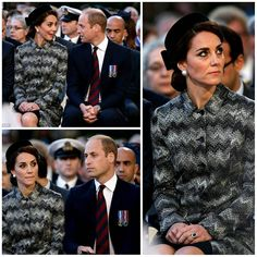 The Duke and Duchess of Cambridge accompanied with Prince Harry attended the  centenary commemorations for the b817594d1