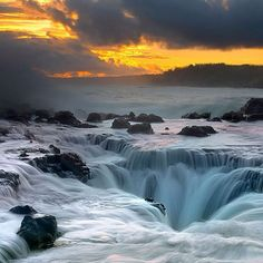 Thor's Well: Oregon, U.S.