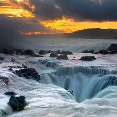 Thor's Well: Oregon, U.S.
