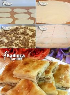 Crispy Albanian Recipe Recipe, How To? – Womanly Recipes – Delicious, Practical and Delicious Food Recipes Site - Pastry Meat Cooking Times, Cooking Bread, Kids Cooking Recipes, Gourmet Recipes, Albanian Recipes, Turkish Recipes, Steak Recipes, Salmon Recipes, Potato Recipes