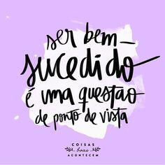 #pontodevista #sucesso