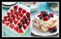 Εύκολη και οικονομική συνταγή για τούρτα με φράουλες!
