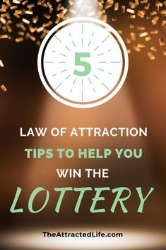 Do you want to win the lottery? Do you want to use the law of attraction to help you win the lottery? Here are 5 tips to help you see your lottery dreams become a reality. Lottery Strategy, Lottery Tips, Lottery Winner, Winning The Lottery, Law Of Attraction Planner, Law Of Attraction Money, Neville Goddard, Win Money, Manifesting Money