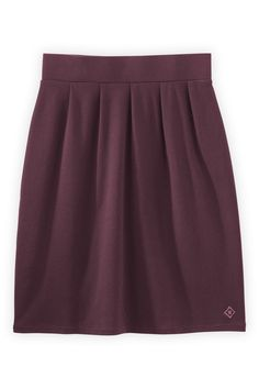 Fair Indigo Organic Fair Trade Pleated Skirt - Bottoms - Women
