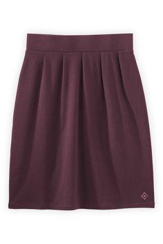 Fair Indigo Organic Fair Trade Pleated Skirt - Bottoms - Women