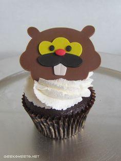 Bidoof Cupcake, Pokémon