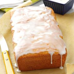 """Key Lime Bread Recipe -""""I first tried this deliciously different bread at a friend's house, and she graciously shared the recipe with me,"""" says Joan Hallford of North Richland Hills, Texas. """"It's so easy to make and it tastes absolutely yummy!"""""""