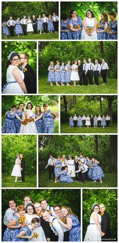 DIY Wedding Dress - St. Louis Missouri Wedding Photographer - STL Wedding - Leah Marie Landers Photography