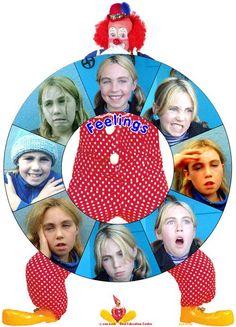 Feelings Spinning Wheel Game