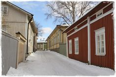 Tina's: Gamla Raumo---- Old Rauma beatiful houses