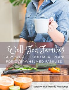 Full meal plans with grocery lists, recipe books, and tons of tips and tricks! Start meal planning on the right foot with these done-for-you whole-food plans. Whole Foods Meal Plan, Whole Food Recipes, Wellness Fitness, Health And Wellness, Holistic Nutritionist, Recipe Books, Grocery Lists, Meal Planning, Healthy Lifestyle