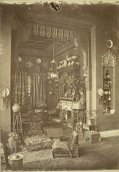 Cairo. Egyptian Home (Interior) - A. D. White Architectural Photographs, Cornell University Library