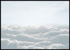Up in the clouds, poster in the group Prints / Sizes / 50x70cm | 20x28