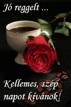 Fotó: Retro Hits, Emoji Love, Coffee Images, Flower Aesthetic, Hot Coffee, Beautiful Roses, Good Morning, About Me Blog, Tableware