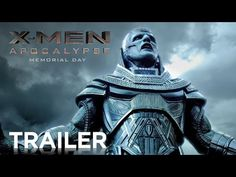 X-MEN: APOCALYPSE | Official Trailer [HD] | 20th Century FOX - YouTube. Captain America has nothin' on the X-men. This is going to be amazing. I have never fangirled ever until I saw this trailer. I have yet to calm down! NGHTCRAWLER JEAN GREY AHHHH!!!!!! Excuse me whilst I fangirl again:asdfghjl;'