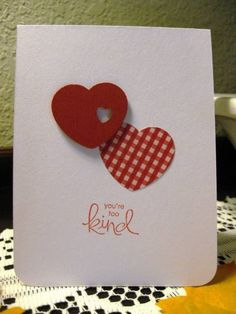 Too Kind by Marzipan - Cards and Paper Crafts at Splitcoaststampers
