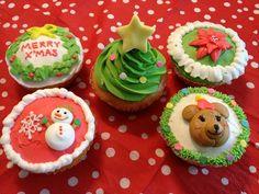 クリスマスカップケーキ - Google 検索