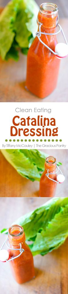 Clean Eating Recipes | Catalina Salad Dressing Recipe | Catalina Dressing | Healthy Recipes | Recipes