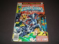 Marvel Presents 12 Guardians of the GalaxyFinal by HeroesRealm, $4.00