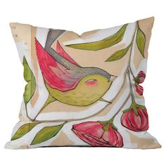 Oh these colors! :: Cori Dantini Tweet Pillow