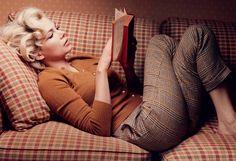 "Michelle Williams, ""My Week with Marilyn"", 2011 (photo credit: Annie Leibovitz)"