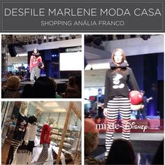 Espectacular o desfile de MARLENE no Shopping Anália Franco com a apresentação da coleção outono Mixte! #lindaemcasa #pijamas #modaintima #fallwinter2015 #inverno2015 #conforto #mulher #woman #disney #disneybymarlene