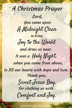 Best Short Christmas Poems and Prayers For Family, Kids, Friends & Lord Jesus Christmas Verses, Christmas Prayer, Christmas Program, Christmas Blessings, Christmas And New Year, All Things Christmas, Christmas Holidays, Christmas Pictures, Merry Christmas Quotes Christian