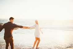 A romantic beach engagement by Dawn Alexandra Photography - Wedding Party