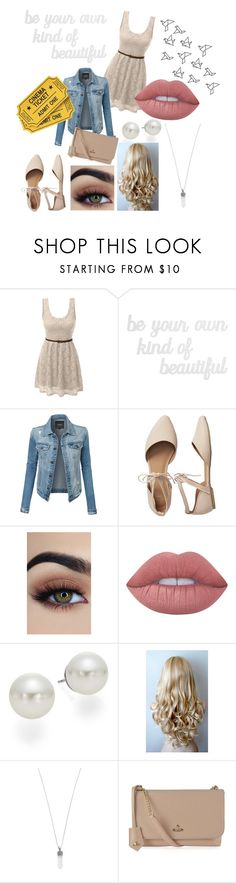 """""""Butterflies in My Stomach- Date"""" by merylrs ❤ liked on Polyvore featuring LE3NO, PBteen, Gap, Lime Crime, AK Anne Klein, Marc Jacobs and Vivienne Westwood"""