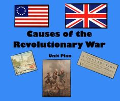 American Revolution Timeline | East Dragon Den: Causes of the ...
