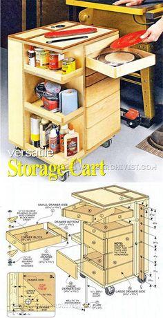 Shop Cart Plans - Workshop Solutions Projects, Tips and Tricks | WoodArchivist.com