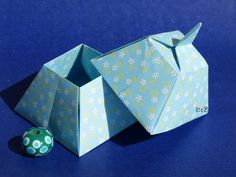 Origami Pyramid Box by Tomoko Fuse