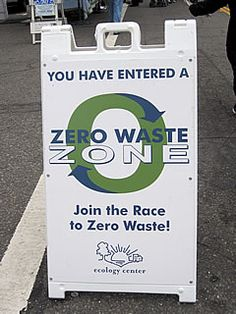 Idea for how to promote a Zero Waste event. Find more resources here: http://rethinkwasteproject.org/for-events/