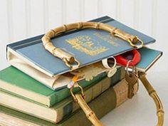 Необычная сумка из книги своими руками