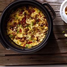 Slow Cooker Sausage Breakfast Casserole  Warm your house with the smell of delicious breakfast! Bring the family together to enjoy Jimmy Dean® Hearty Sausage Crumbles, eggs, and cheese, slow-cooked to perfection.