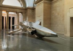 Fiona Banner technology social sculpture military installation airplanes