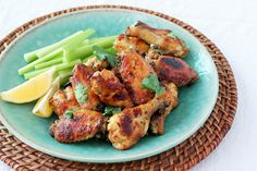 INDIAN SPICED CHICKEN WINGS: Recipe courtesy of Kitchenette Food & Photography