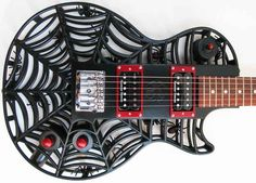 These Awesome Guitars Were Made With A 3D Printer