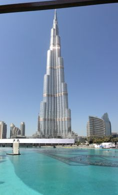 """This amazing tower began to be built in 2004 so almost...10 years and still """"the tallest building in the world"""""""