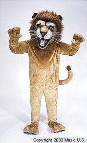African Lion Mascot Costume (Rental)