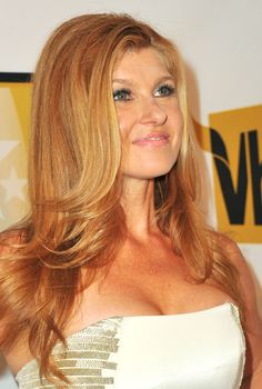 Connie Britton /// the color is so random and flawless