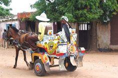 Charrette-taxi, Sénégal