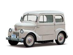 1947 года Nissan Таmа первый электрический автомобиль