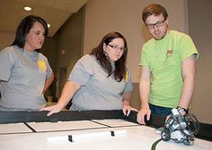 This week Tim Friez, ROBOTC Developer, was in Mississippi training instructors on how to program ROBOTC. Mississippi State University wrote an article about the course! Educational Robots, Robots For Kids, Mississippi State, Programming Languages, Robotics, Teaching Tools, State University, Competition, Training