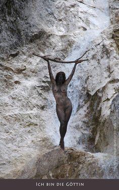 """BodyPainting """"ICH BIN..."""" - Juni 2011:    model: Myana  fotos: Peter Engelhardt  ort: Weißbachschlucht (Speik), Bad Reichenhall"""