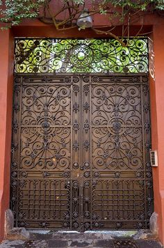 The Doors of Mexico City by rhyndman, Now that is some amazing workmanship!